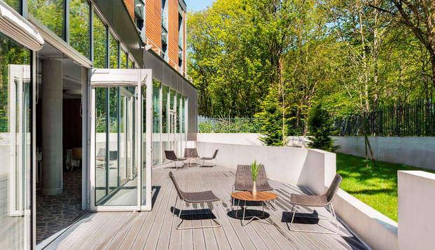 Best Western Plus Paris Meudon Ermitage - terrace