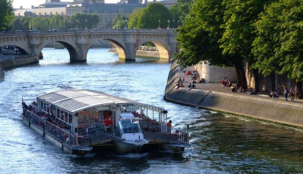Parenthèse conviviale et design à Paris avec croisière sur la Seine