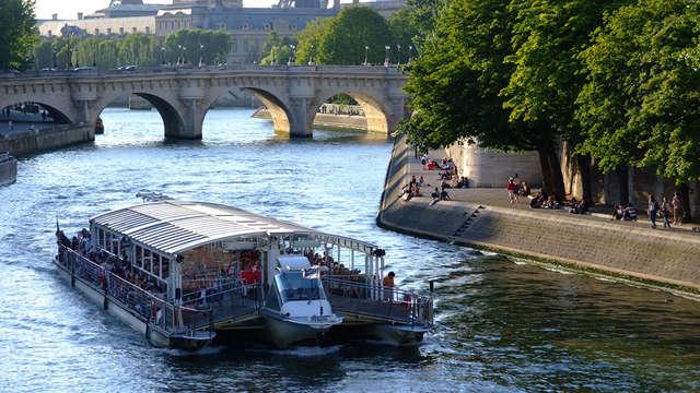 Paréntesis familiar y diseño en París con crucero por el Sena