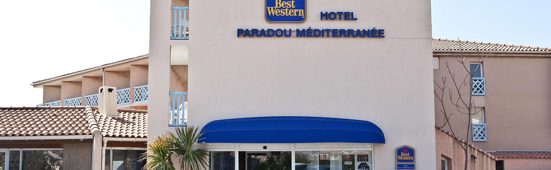 Best Western Paradou M 233 Diterran 233 E 3 Sausset Les Pins