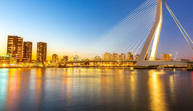 Éveil des papilles avec dîner à Rotterdam (à partir de 2 nuits)