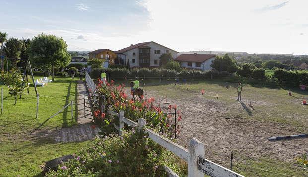 Diner een paardentocht op het strand in Cantabrië (vanaf 2 nachten)