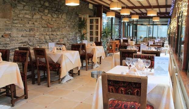 Goûtez les spécialités normandes avec une vue imprenable sur le Mont Saint-Michel
