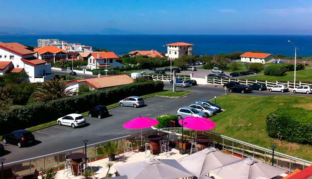 Hotel Le Biarritz - view