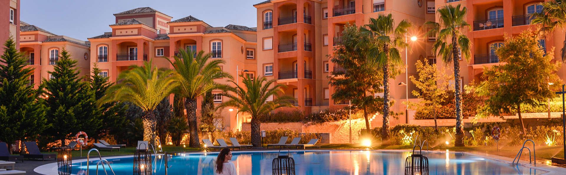 Luxe dans une chambre avec balcon, cadeaux VIP, spa illimité, dîner et autres surprises à Islantilla