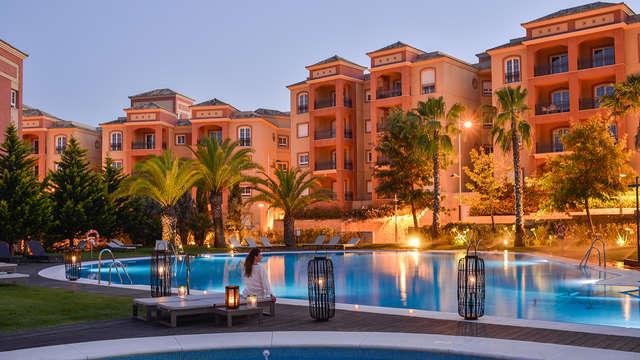 Lujo en habitación con balcón, spa ilimitado, cena y otras sorpresas en Islantilla (desde 3 noches)
