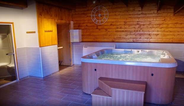 Hostellerie du Centrotel et Spa - jacuzzi