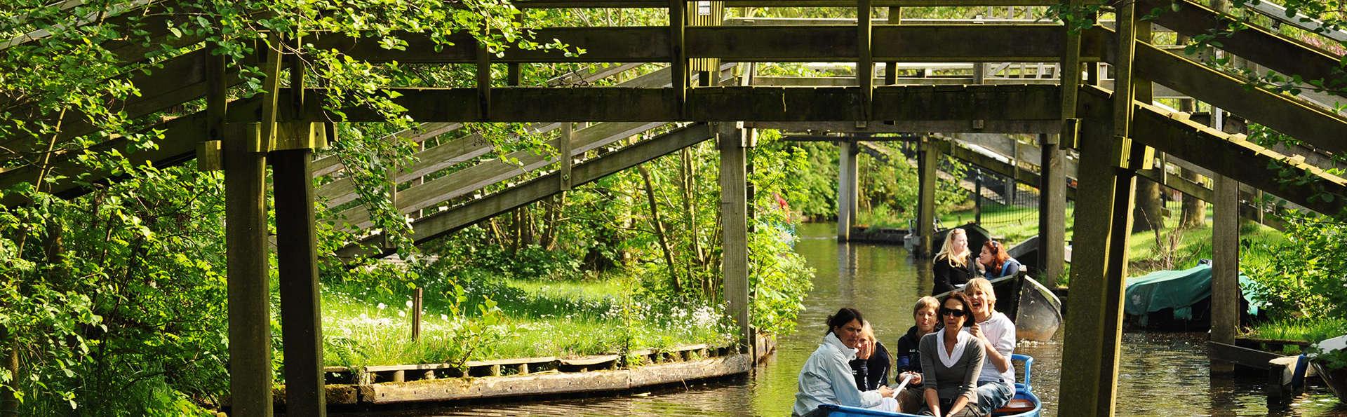 Séjournez dans une chambre supérieure et profitez de la nature et du bien-être près de Giethoorn.