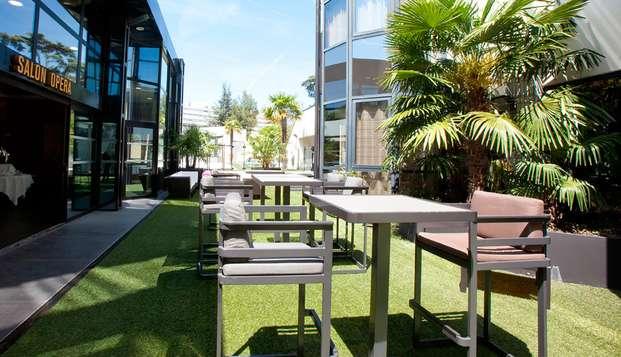 Hotel Palladia - terrace