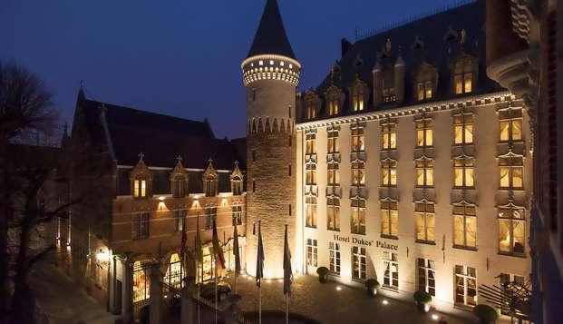 Séjour dans une suite luxueuse située dans la partie château de l'hôtel