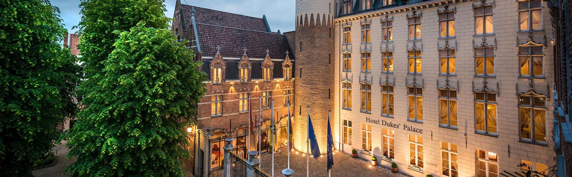 Romanticismo en un hotel de lujo en Brujas