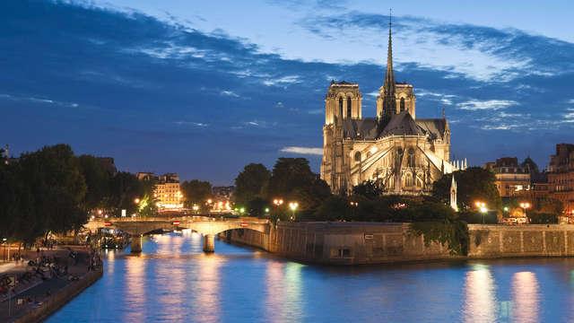 Paréntesis de relax a las puertas de París