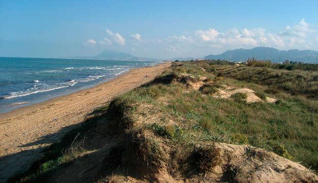 Faites une escapade à la plage d'Oliva en studio entièrement équipé