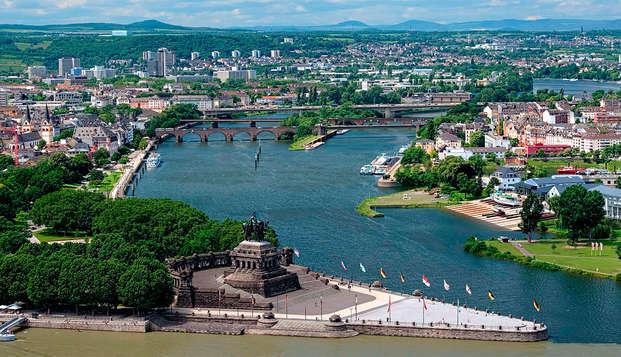 Geniet van de prachtige natuur vlakbij Koblenz (3 nachten voor de prijs van 2)