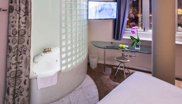 Especial Relax en privado: Escapada en Oviedo con bañera de hidromasaje en la habitación