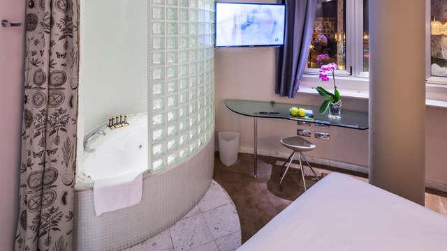 1 bañera de Hidromasaje en la habitación