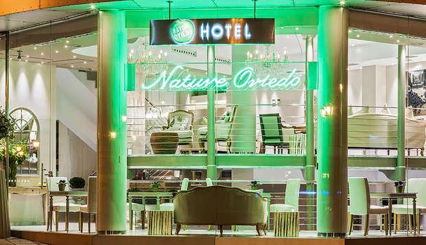Escapada en Oviedo en un hotel de diseño contemporáneo