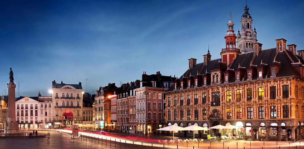 H tel art d co grand lille 3 lille france for Grand hotel de paris madrid
