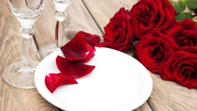 Séjour romantique avec dîner et massage pour profiter de votre moitié !