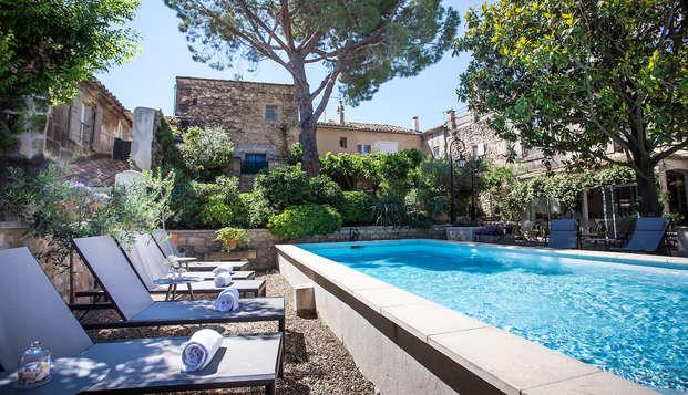 Séjour gourmand dans un charmant hôtel de Provence