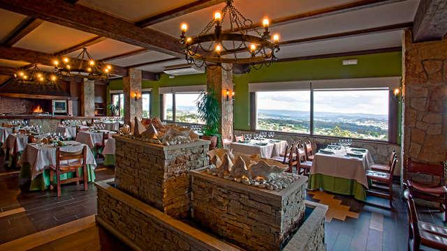Escapada Romántica con Cena cerca de A Coruña