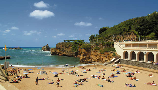 Hotel Georges VI - Biarritz - beach