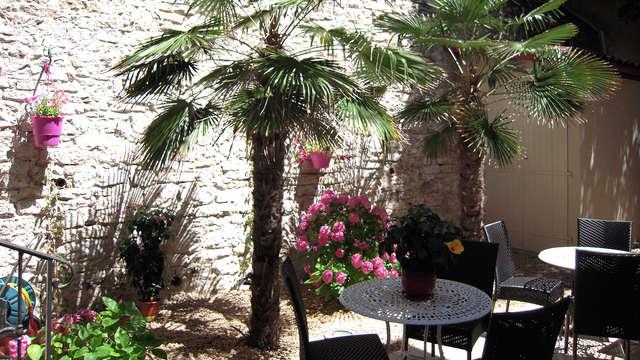 Hotel Georges VI - Biarritz - patio