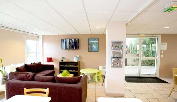 All Suites Appart Hotel Bordeaux Merignac - Hall