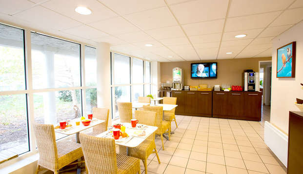 All Suites Appart Hotel Bordeaux Merignac - Restaurant
