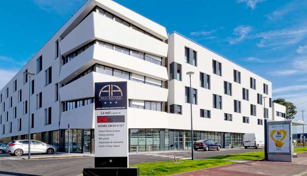 All Suites Appart Hotel Bordeaux-Pessac - Front