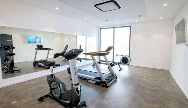 All Suites Appart Hotel Bordeaux-Pessac - Gym