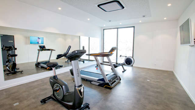 All Suites Appart Hotel Bordeaux-Pessac - Gym