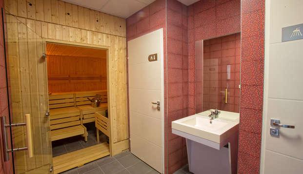 All Suites Appart Hotel Bordeaux-Pessac - Sauna