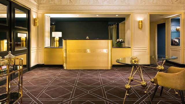 Verblijf in hotel met de juiste balans tussen moderne chic en traditionele charme