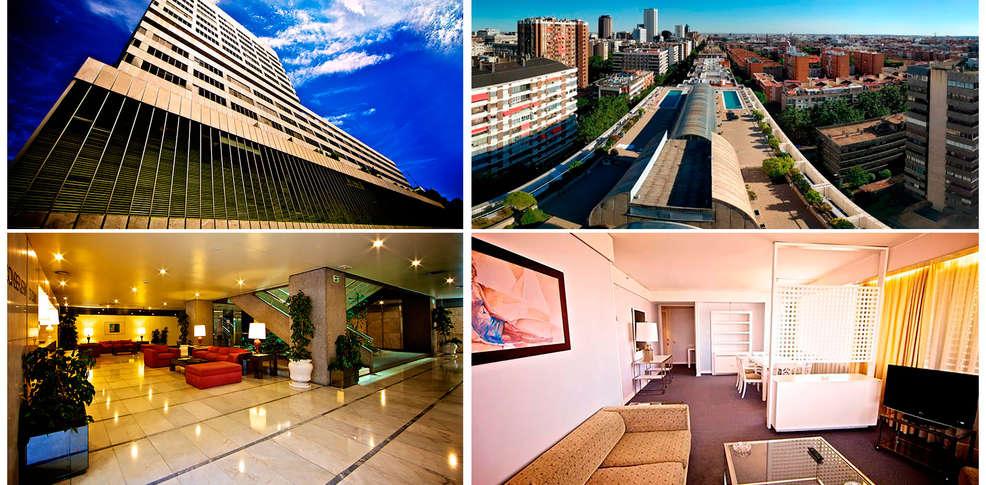 Sercotel apartamentos eurobuilding 2 4 madrid espa a - Sercotel apartamentos eurobuilding 2 ...