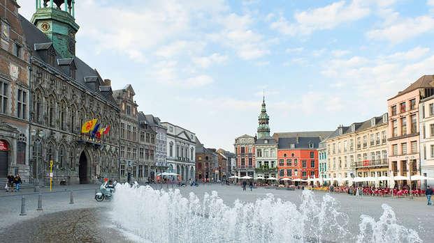 Visita a la ciudad de Mons y cata de cerveza local
