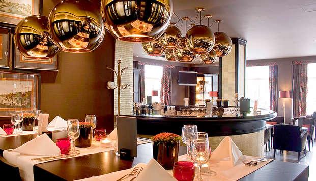Verblijf in dit elegante hotel tijdens je citytrip naar de hoofdstad van Europa