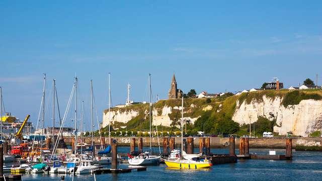 Week-end en chambre supérieure vue mer à Dieppe