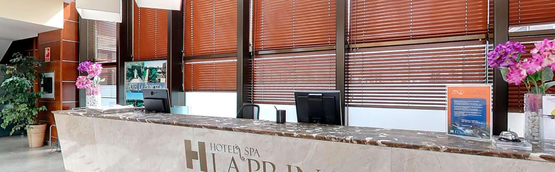 Escapada en un hotel con spa a 2 pasos de Madrid con desayuno incluido
