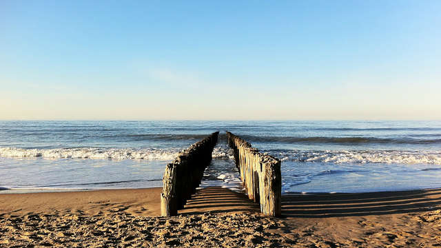 Lekker uitwaaien aan de Belgische kust