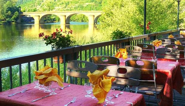 Week end avec dîner au coeur de la cité historique de Cahors