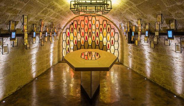 Estancia cerca de París con cata de vino en la bodega Les Caves du Louvre