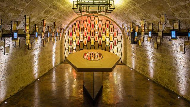 Séjour près de Paris avec dégustation de vin aux Caves du Louvre