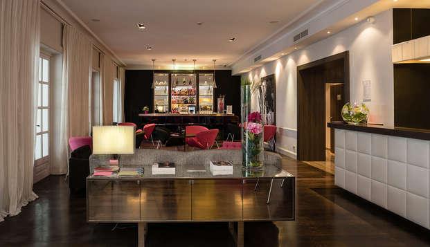 Hotel Le Canberra - receptionbar