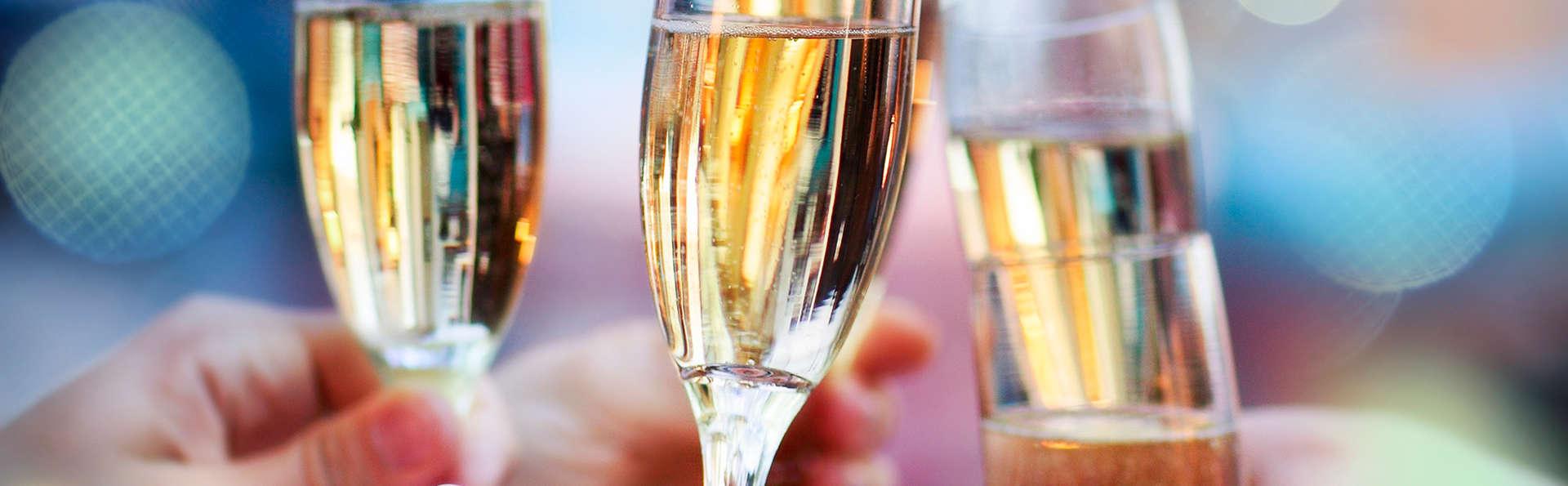 Romantisme et champagne pour l'hiver