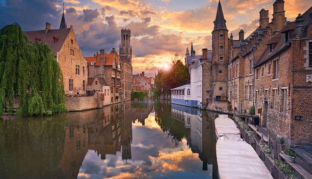 Week-end au coeur de Bruges avec visite du musée Choco-Story