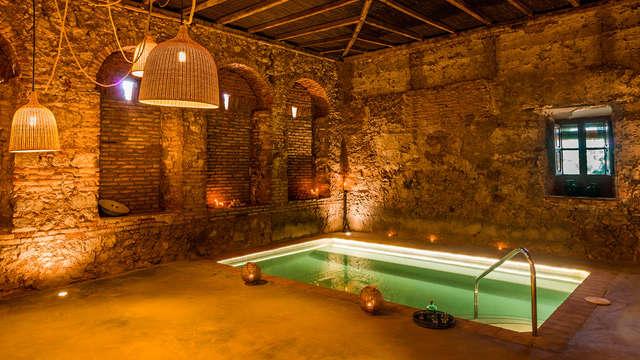 Spa Lovers: Cena a la luz de las velas con acceso a los tradicionales baños Árabes de Villaharta