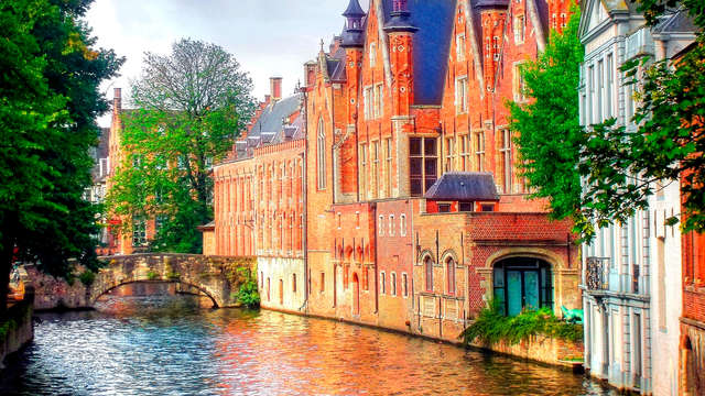 Brugge aan het water