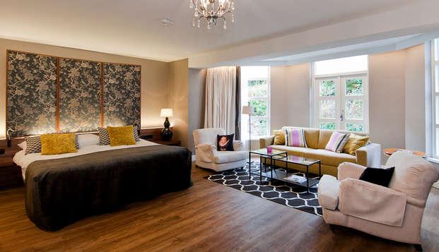 Romantiek en charme in de Kasteel Suite, inclusief een 4-gangen diner