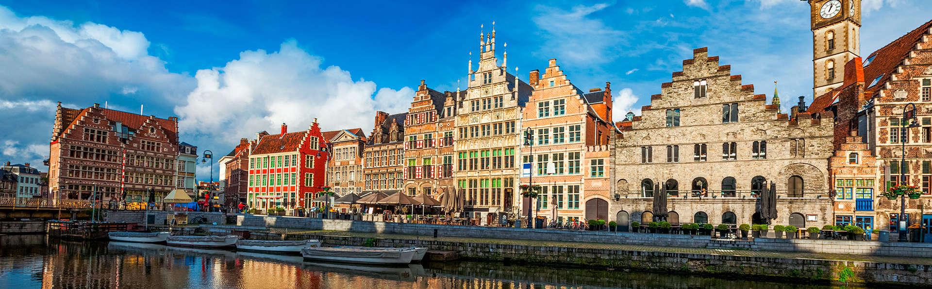 Découvrez la merveilleuse ville de Gand sur l'eau